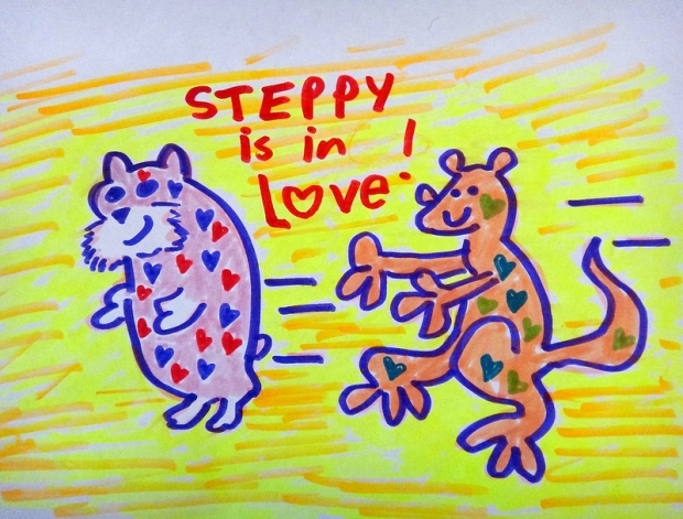 Steppy Is In Love