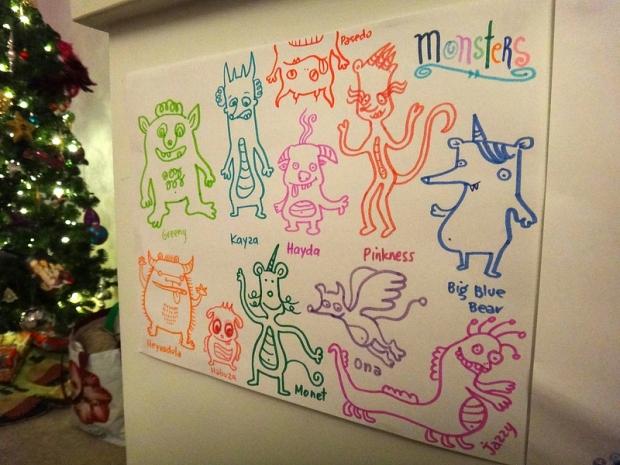 11 Monsters of Christmas