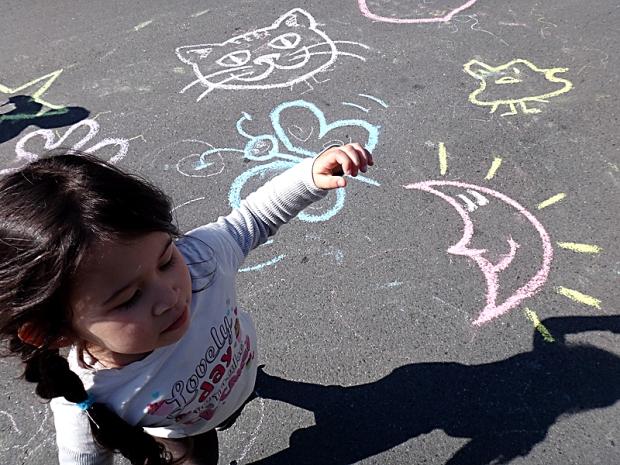 Cool Chalk Doodles