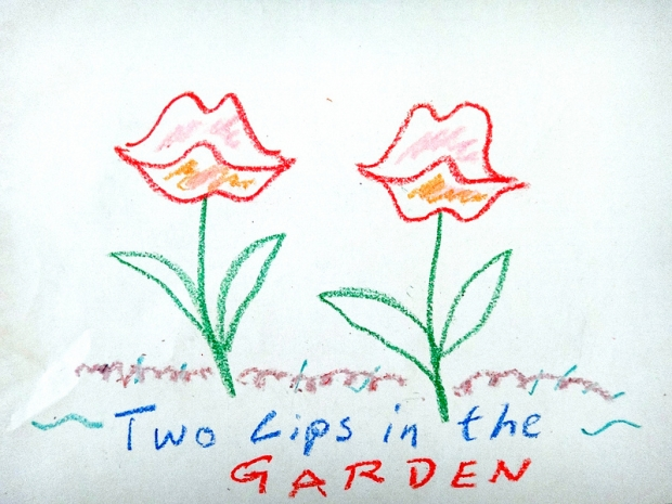 Two Lips in the Garden