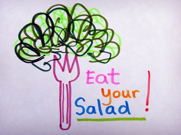 Eat Your Salad !