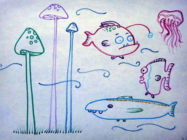Fishy Doodles